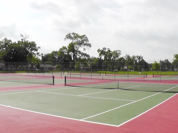 Shelden Park Tennis Courts