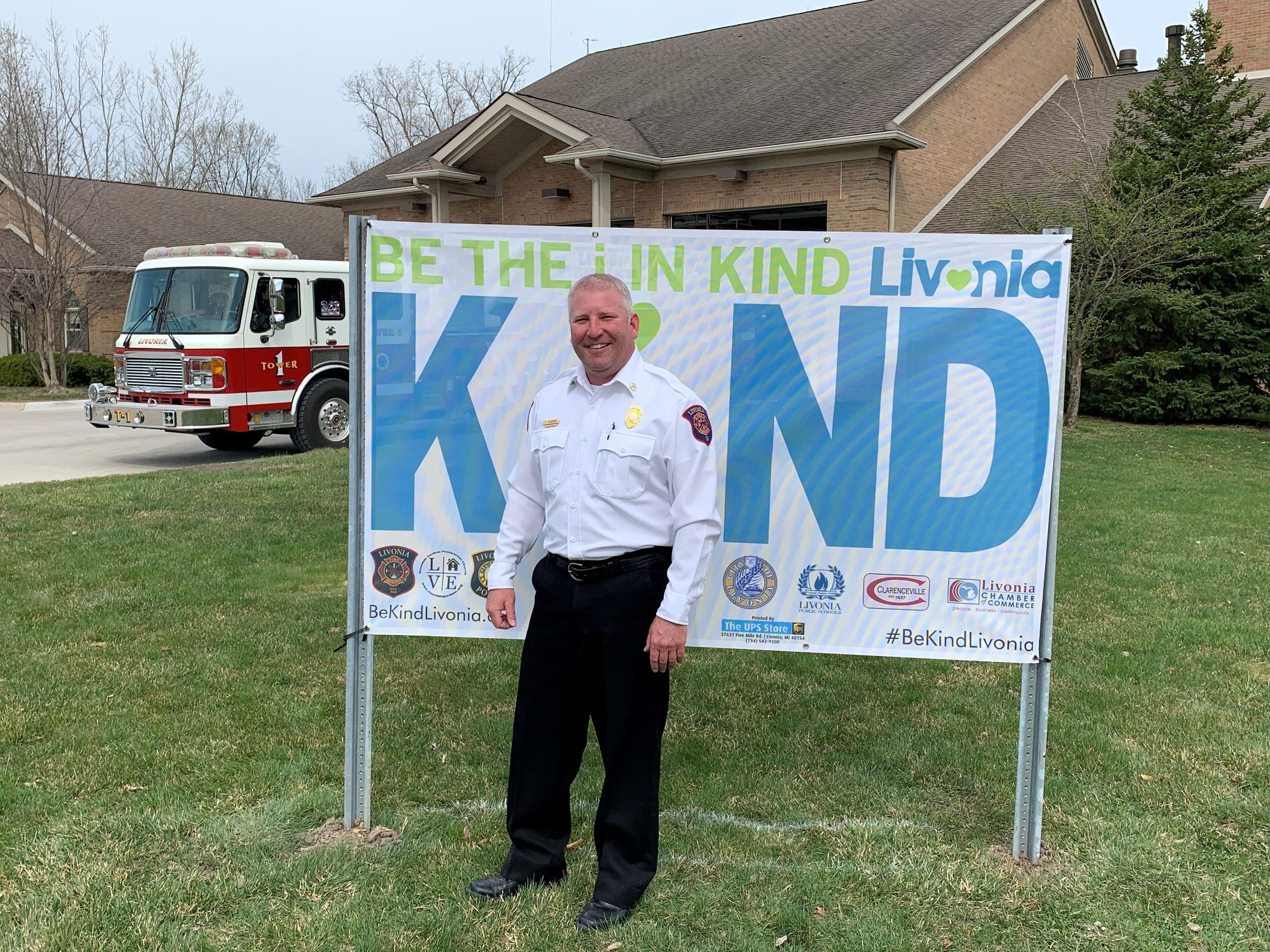 Livonia Fire Chief Dave Heavener - Be the I in Kind