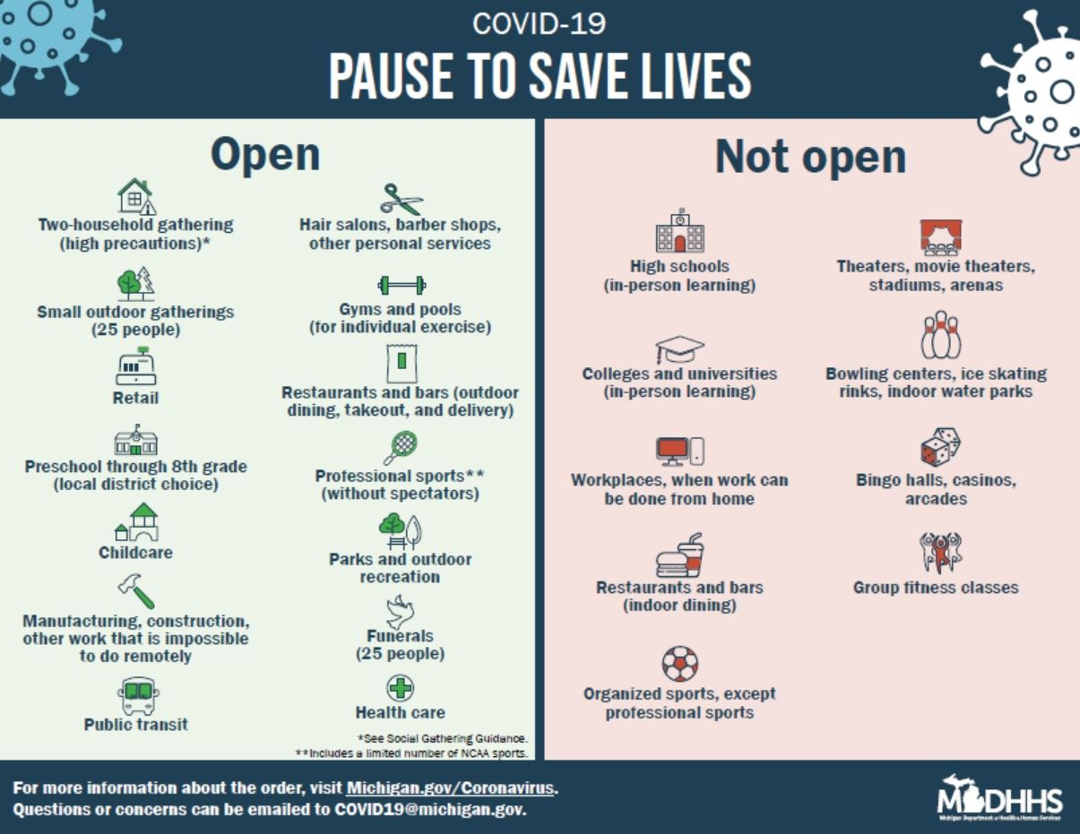 Pause To Save Lives infographic