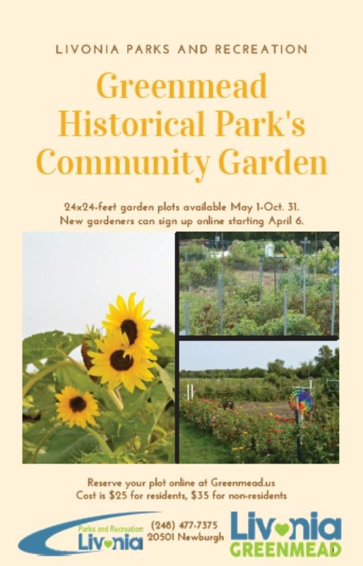 Greenmead Community Garden Flyer 2021 Opens in new window