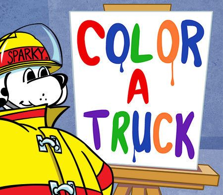 Color a Truck