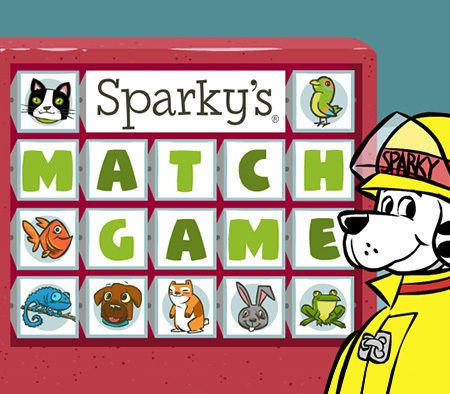 Sparky's Matching Game